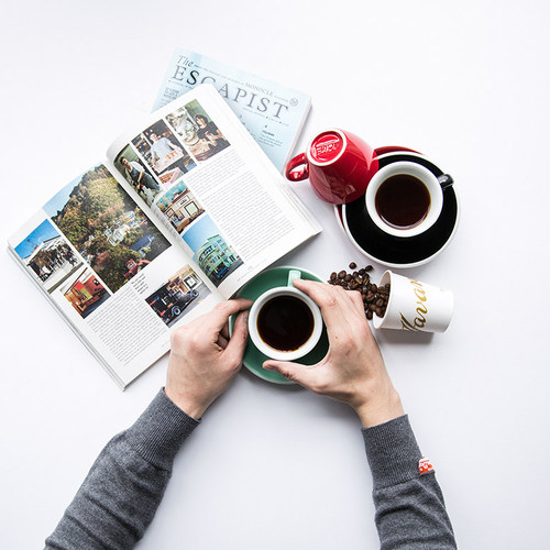 紐西蘭Acme & Co.|圓弧形小白咖啡杯組 - 150ml 灰