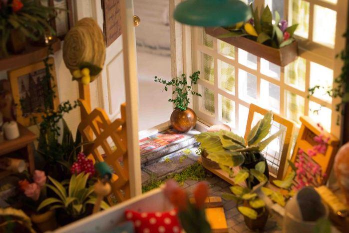 ROBOTIME|DIY木製小屋-米勒花園Miller's Garden