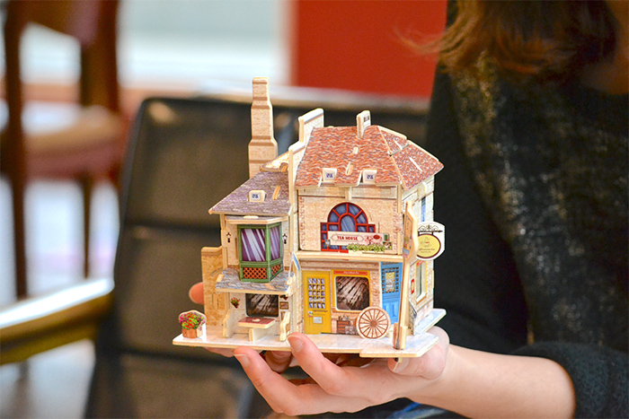 ROBOTIME|世界風情小屋-世界風情小屋-英國紅茶館Tea House