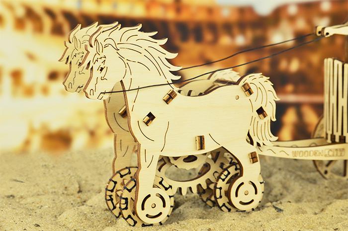 WOODEN.CITY Roman Chariot羅馬帝國戰車