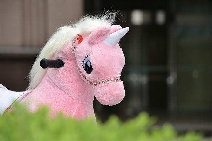 (複製)澳洲 Magic Prince│騎馬機-Unicorn白色獨角獸(珍琪)