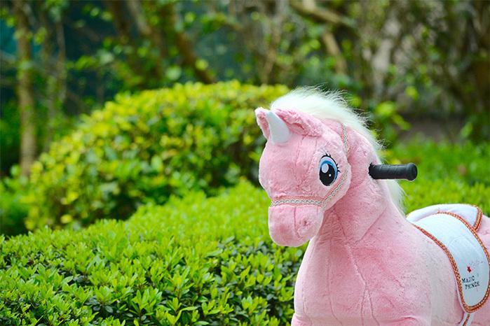 澳洲 Magic Prince│騎馬機-Unicorn Pink粉色獨角獸(珍妮)