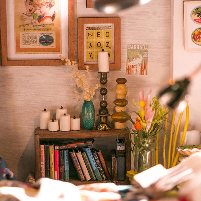 (複製)ROBOTIME|DIY木製小屋-艾莉絲夢幻臥室Alice's Dreamy Bedroom