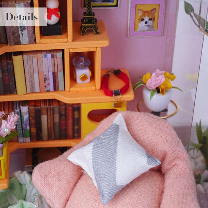 (複製)ROBOTIME|DIY木製小屋-麗莎裁縫店Lisa's Tailor