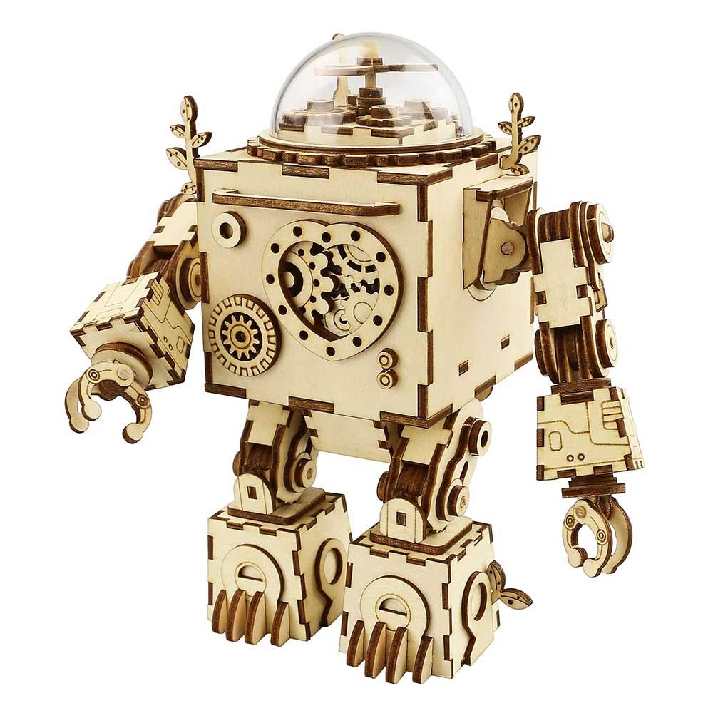 ROBOTIME|DIY木製音樂盒-奧菲斯Orpheus