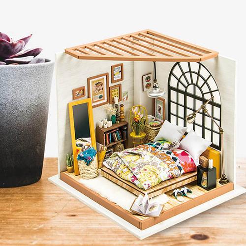 ROBOTIME|DIY木製小屋-艾莉絲夢幻臥室Alice's Dreamy Bedroom