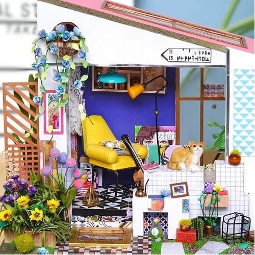 ROBOTIME|DIY木製小屋-Bella渡假屋