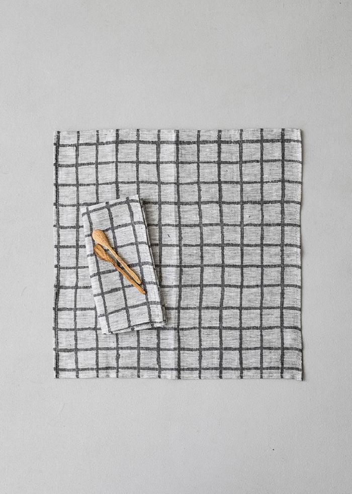 (複製)Fine Little Day|北歐風設計師款 – 方格餐巾二入組(紅) Rutig Napkins 2-pack, Red