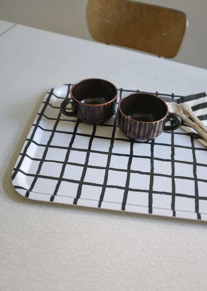 (複製)Fine Little Day|方型托盤-WATER LILIES TRAY, PETROL (43 X 33 cm)