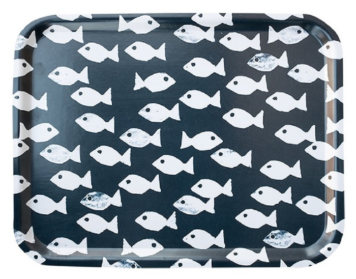 (複製)Fine Little Day|方型托盤-FISH TRAY, OCEAN (43 X 33 cm)