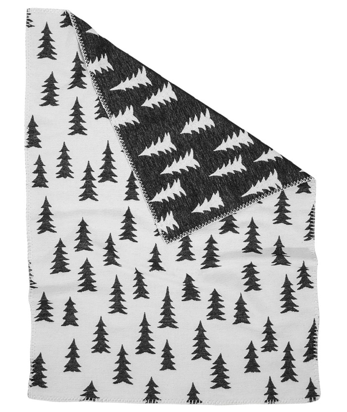 (複製)Fine Little Day| 森林有機棉提花刷毛毯(灰白+粉邊)–GRAN WOVEN CHILD BLANKET(grey/ pink edge)