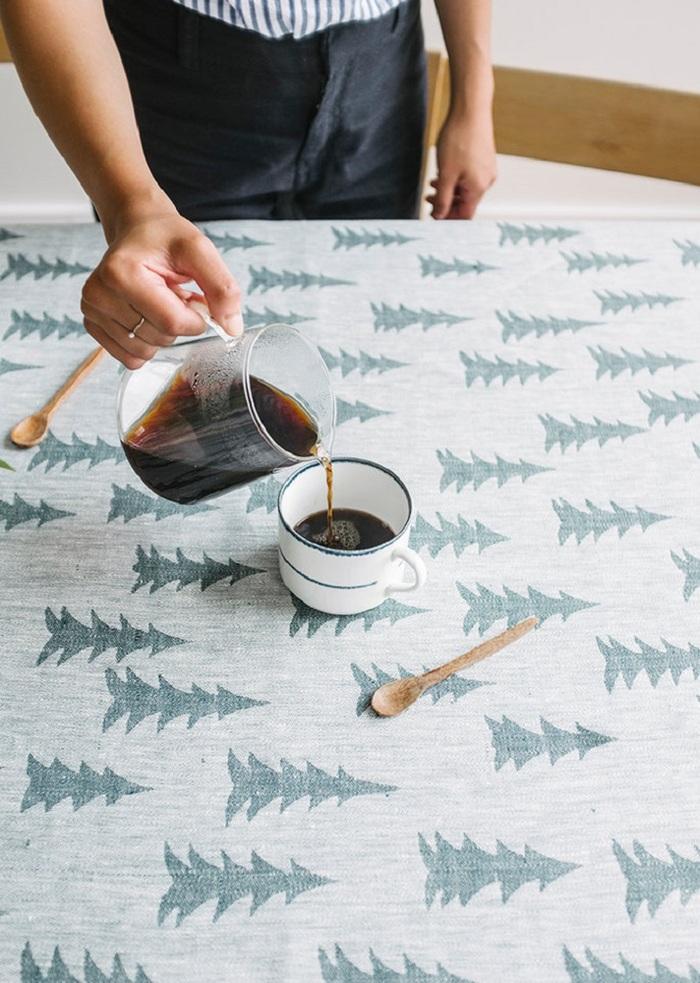 (複製)Fine Little Day|北歐風設計師款 – 格子桌巾, 黑 (147X147cm) Rutig Tablecloth, Black