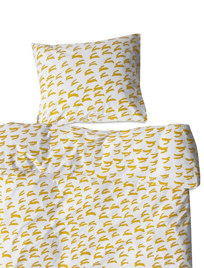 (複製)Fine Little Day|有機棉被套枕套兩件組 – BJÖRN BED SET, SAGE GREEN