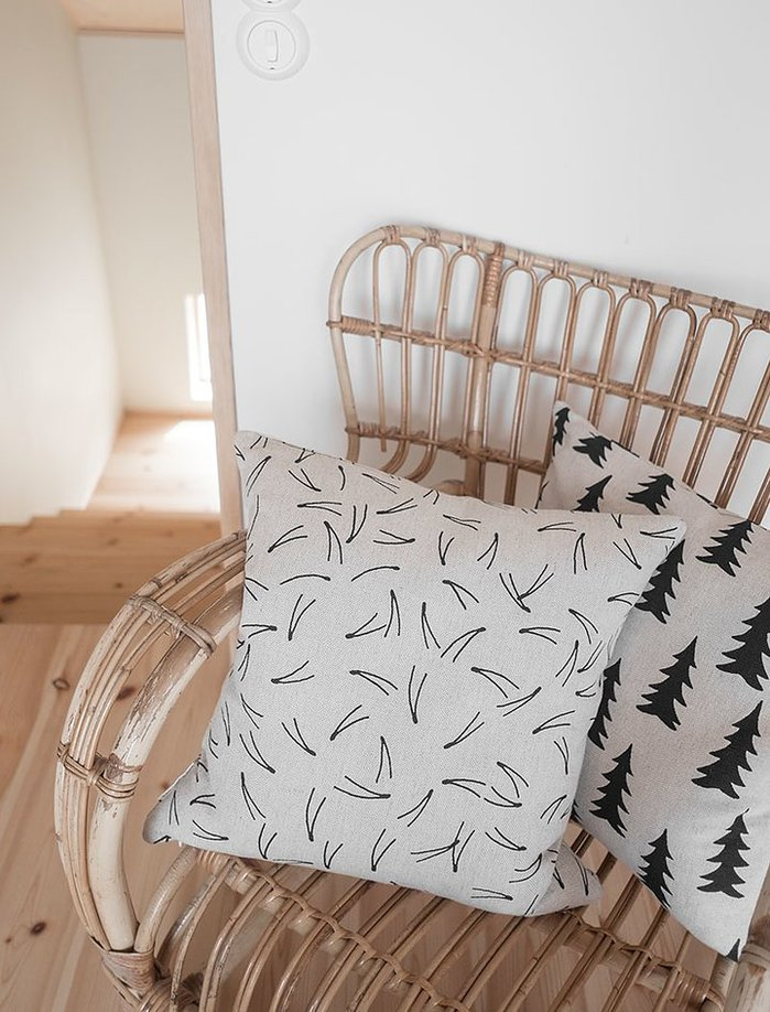 (複製)Fine Little Day 北歐風設計師款 – 枕頭套DOTS CUSHION COVER, WHITE
