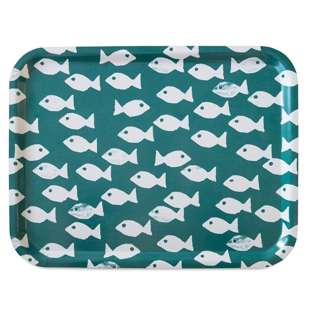 Fine Little Day|方型托盤-FISH TRAY, OCEAN (43 X 33 cm)