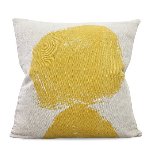Fine Little Day|北歐風設計師款 – 抱枕套VOLCANO CUSHION COVER, YELLOW