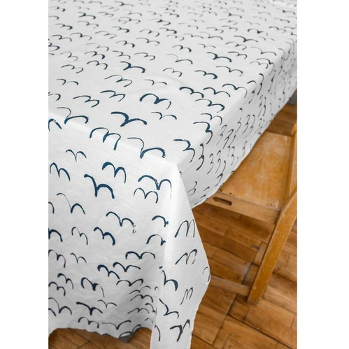 Fine Little Day|北歐風設計師款 – 桌巾BIRD TABLECLOTH (147x250cm)