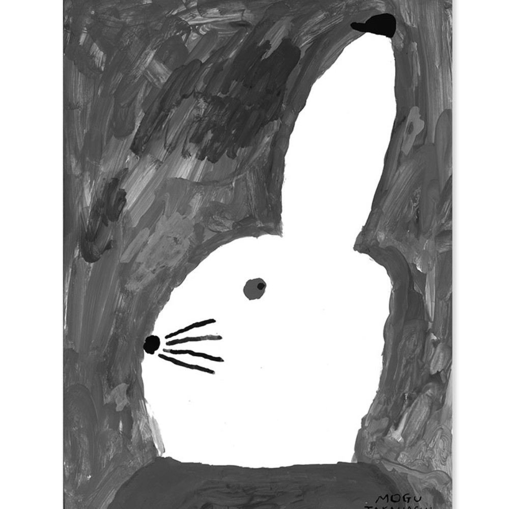 Fine Little Day|北歐風設計師款 - 海報 RABBIT WITH SMALL HAT POSTER