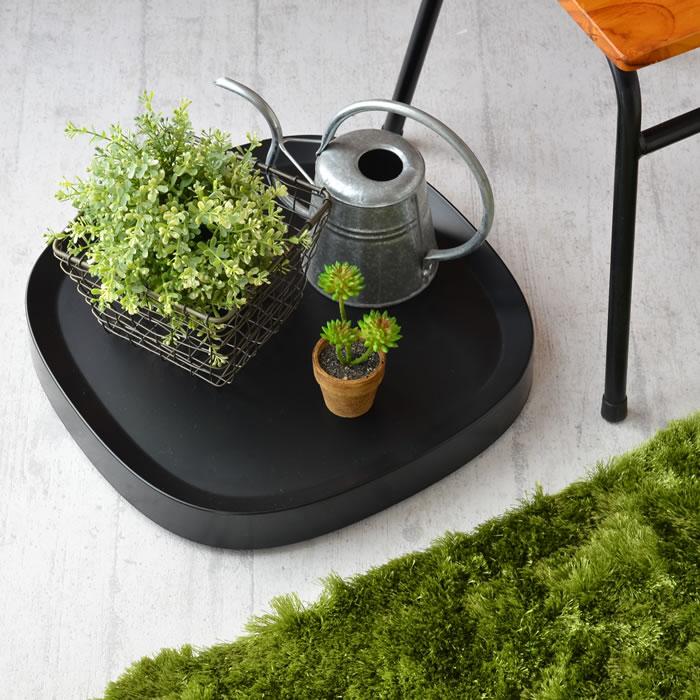 tidy|可移動盆栽托盤 ( 黑色 / 小 )
