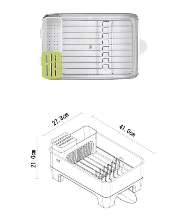 (複製)EKO|瀝水架/收納架(大)