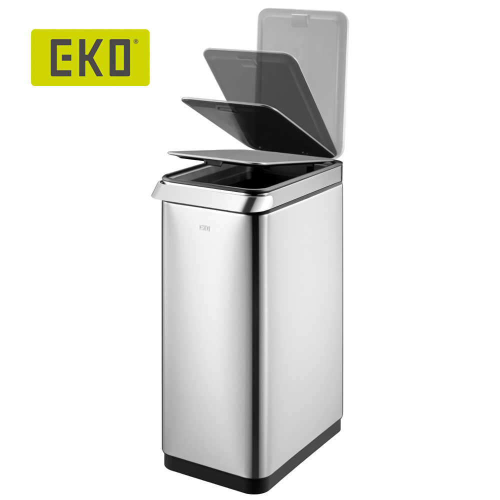 EKO 靈觸觸控靜音垃圾桶 30L