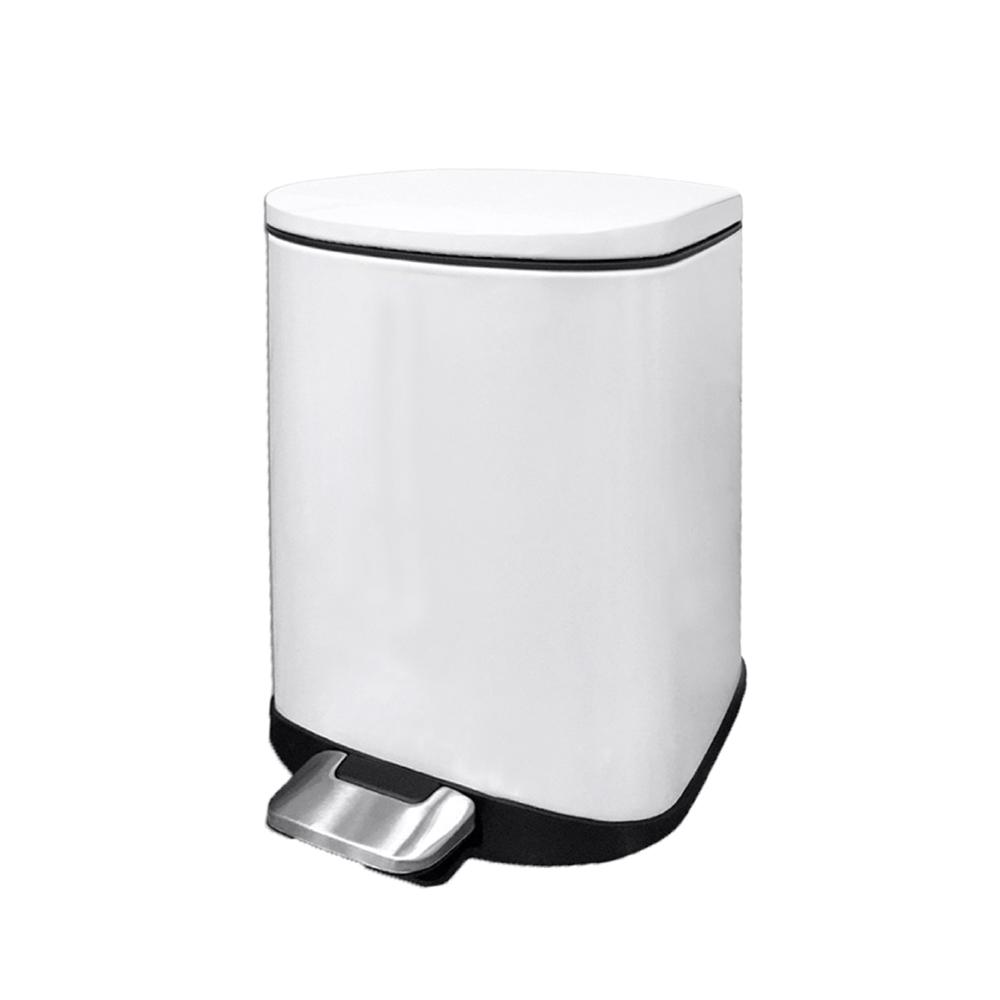 EKO|迪萊靜音垃圾桶-6L (三色可選)