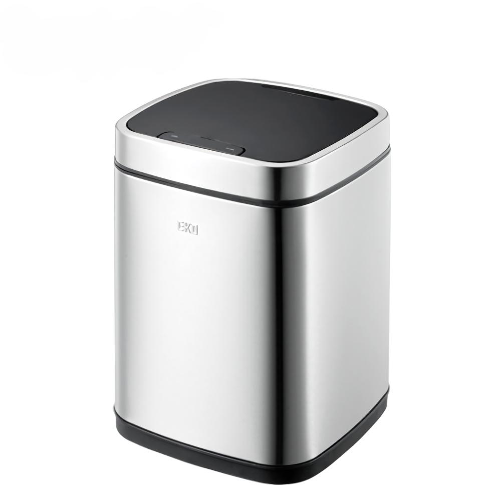 EKO|臻美自動感應垃圾桶 6L(兩色可選)