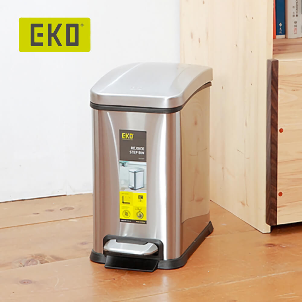 EKO|樂活靜音垃圾桶 15L