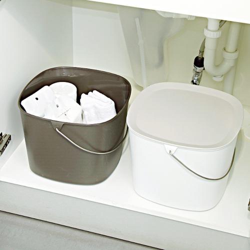 tidy|時尚簡約收納桶 (咖啡色)