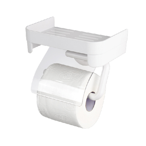 DeHUB | 白色捲紙置物架