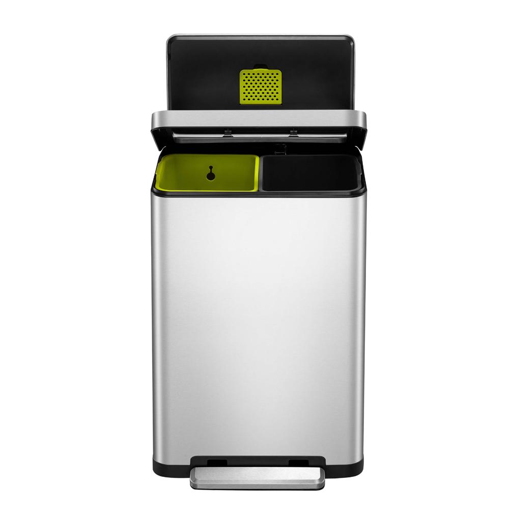 EKO|炫酷靜音垃圾桶 20+20L