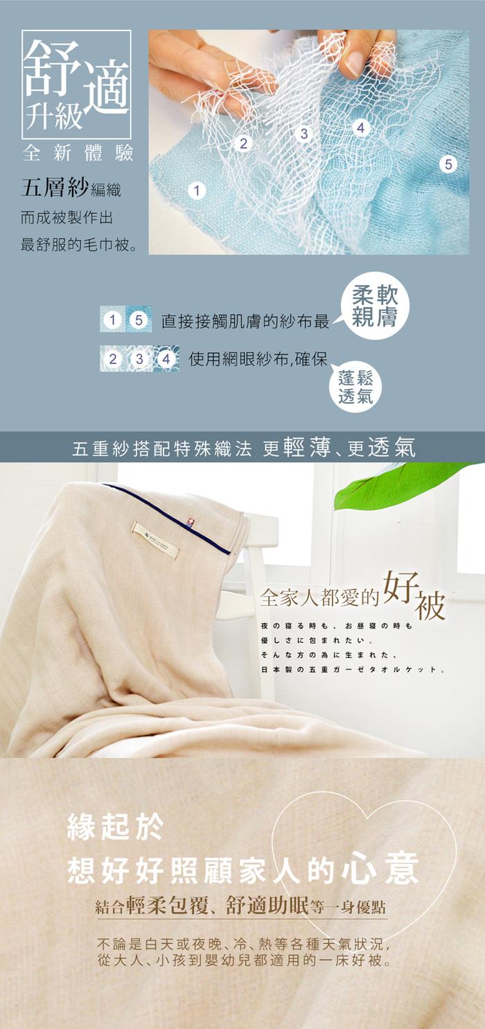 (複製)Broome| karoyaka今治毛巾被(魅力灰)