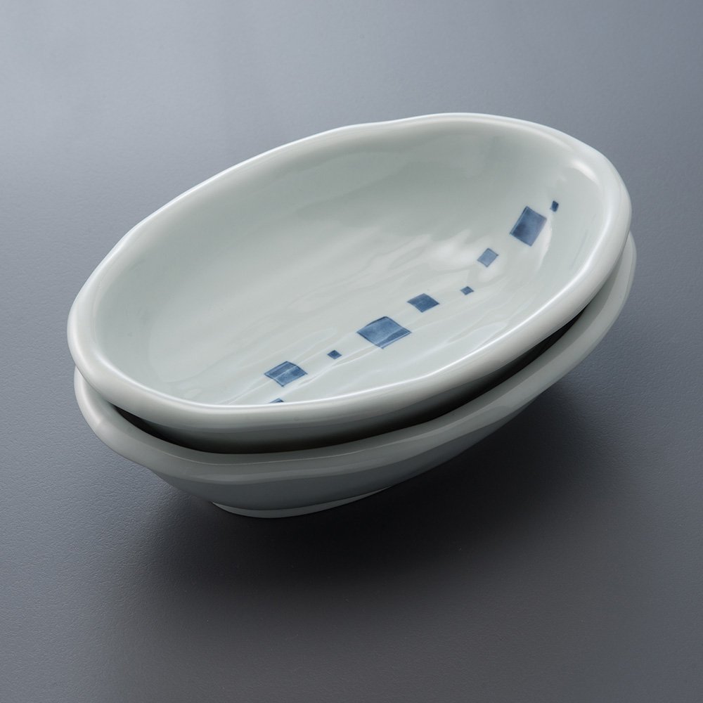 西海陶器 日本美濃燒 日式簡約咖哩對盤