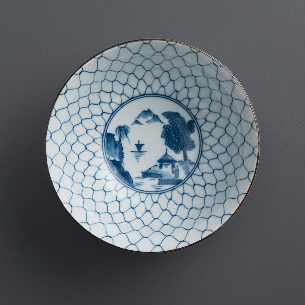 西海陶器|波佐見燒 職人手繪系列 五件式粥碗