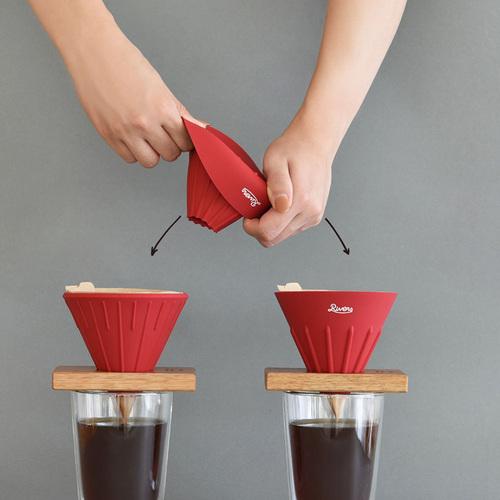 RIVERS 翻轉風味咖啡濾杯(夜幕黑)