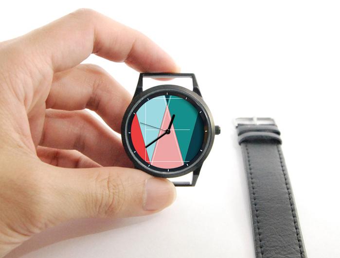 WenTi 插畫X手錶─WE #1