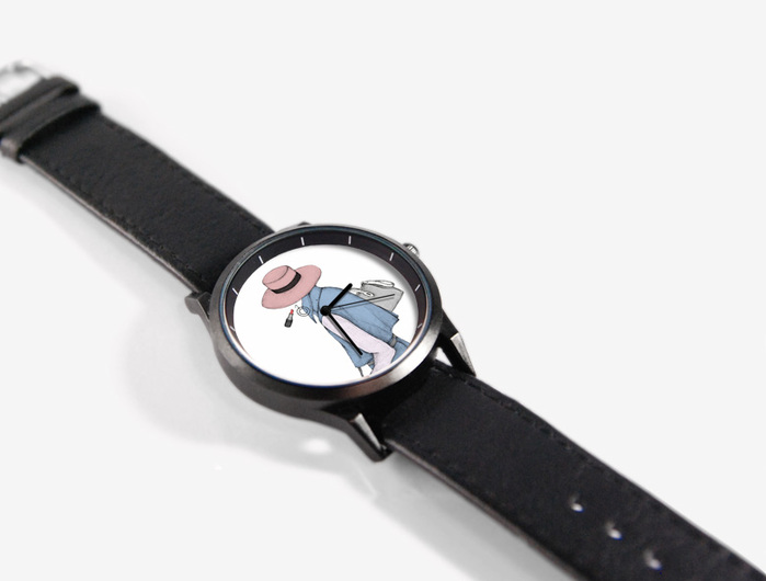 WenTi|插畫X手錶─Ladies & Gentlemen(淑女款)