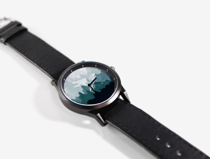 (複製)WenTi|插畫X手錶─摺紙系列(紙飛機)