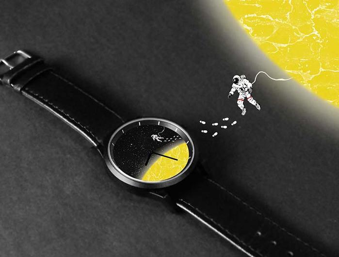 (複製)WenTi|插畫X手錶─太空漫遊系列(1am)