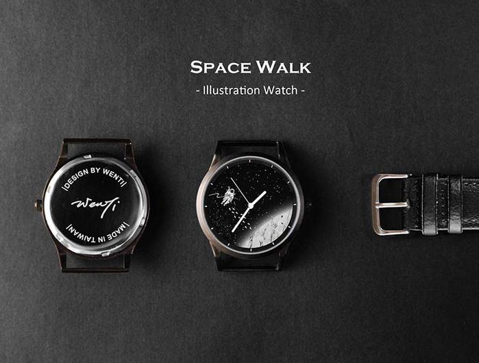 (複製)WenTi|插畫X手錶─太空漫遊系列(2am)