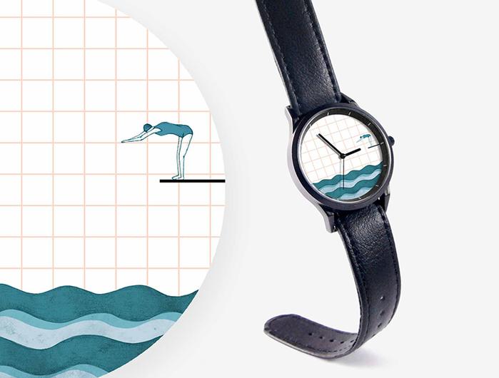 (複製)WenTi|插畫X手錶─太空漫遊系列(3am)