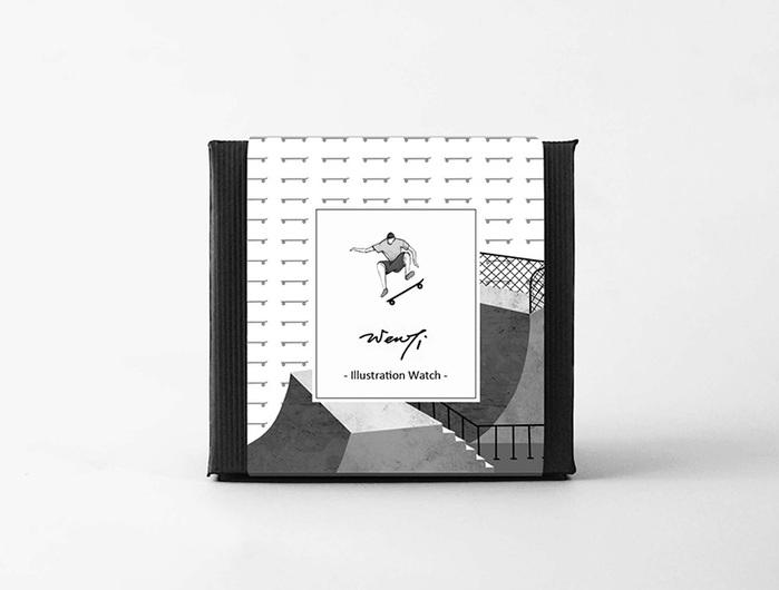 (複製)WenTi|插畫X手錶─Move on系列(Climbing)