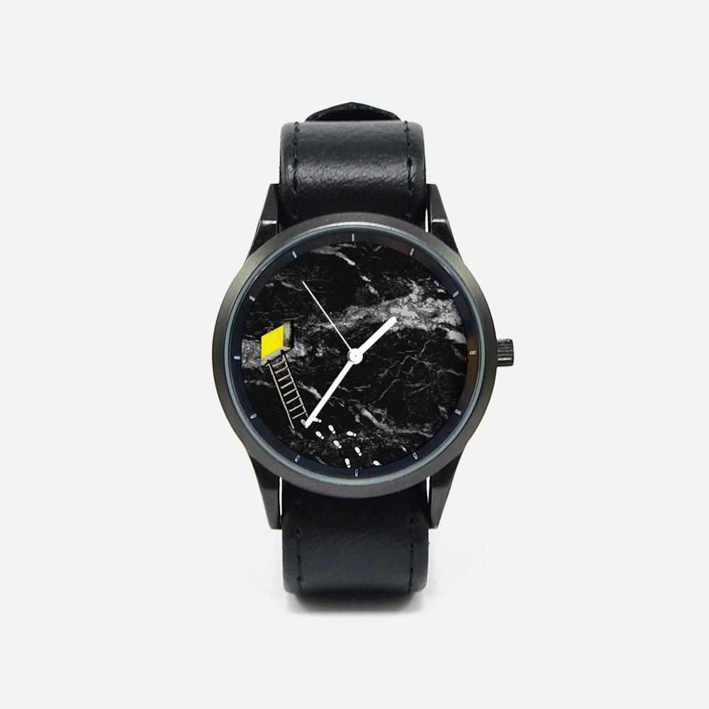 WenTi|插畫X手錶─休閒時光(9pm)
