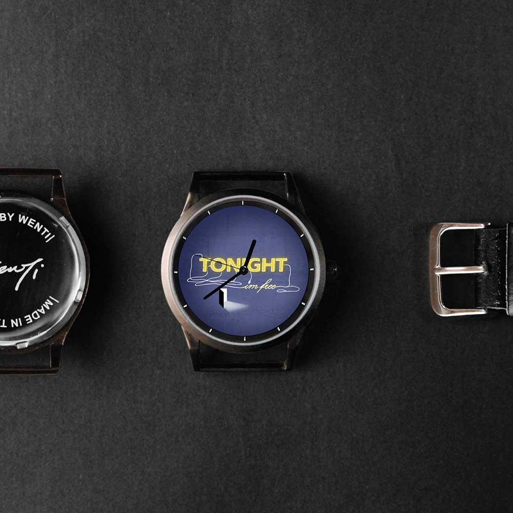 WenTi 插畫X手錶─TONIGHT