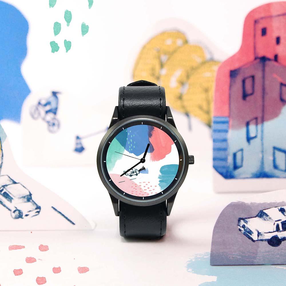 WenTi|插畫X手錶─Rainbow(23 ST)