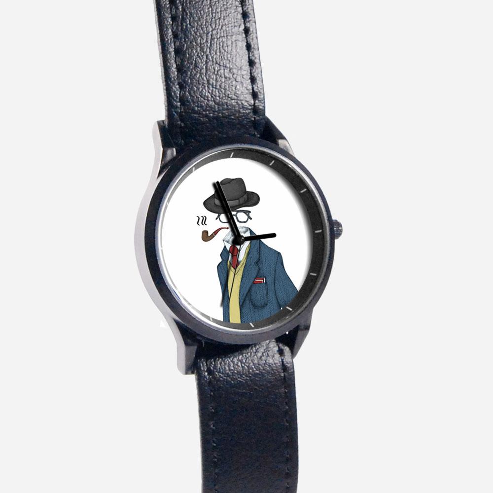 WenTi|插畫X手錶─Ladies & Gentlemen(紳士款)