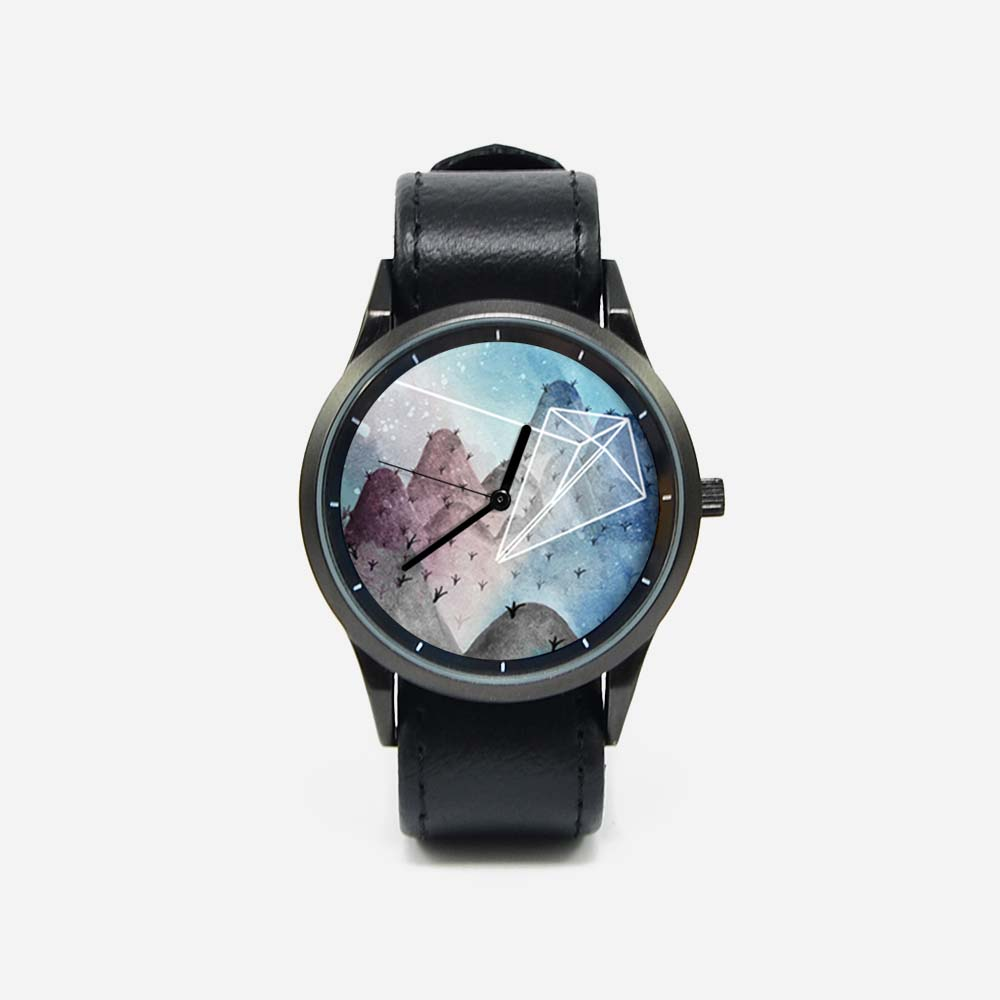 WenTi|插畫X手錶─摺紙系列(紙風箏)