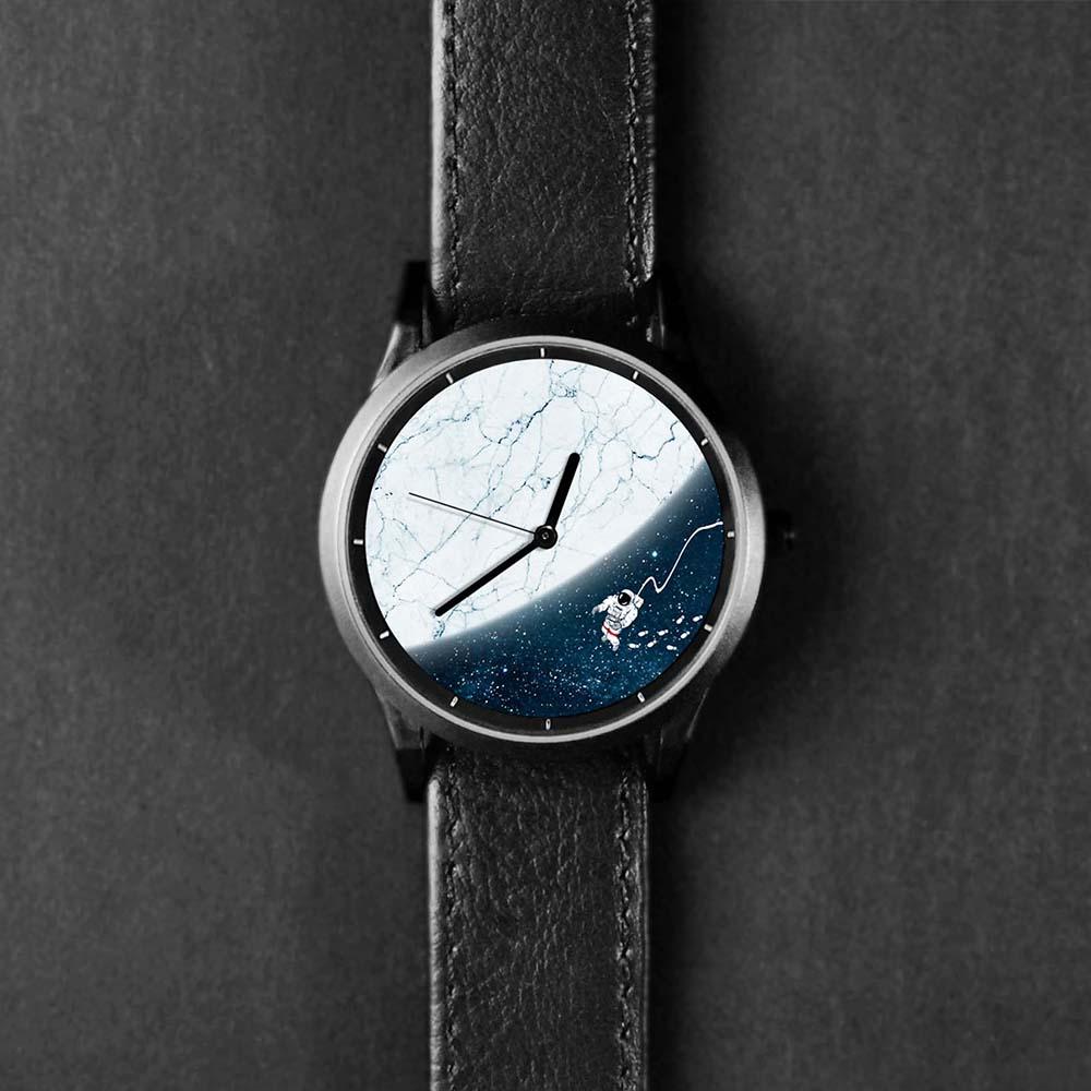 WenTi|插畫X手錶─太空漫遊系列(12am)
