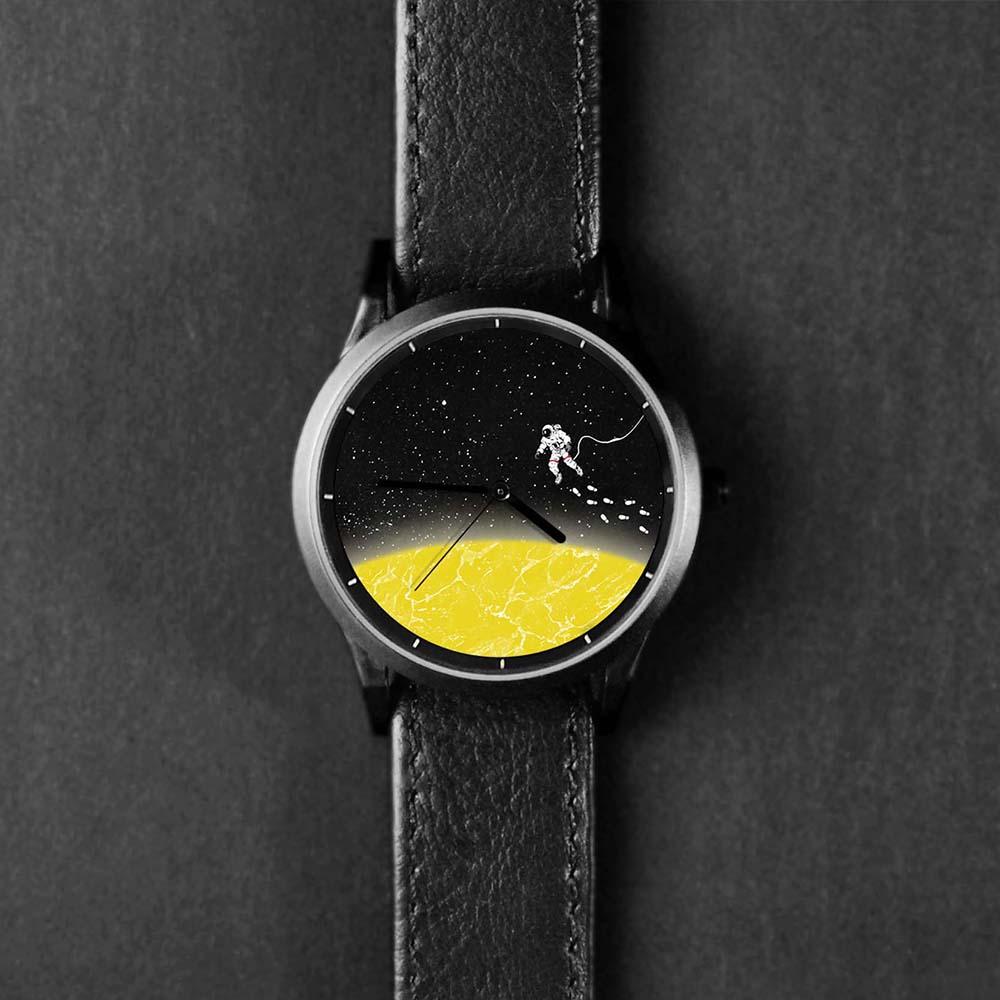 WenTi|插畫X手錶─太空漫遊系列(2am)