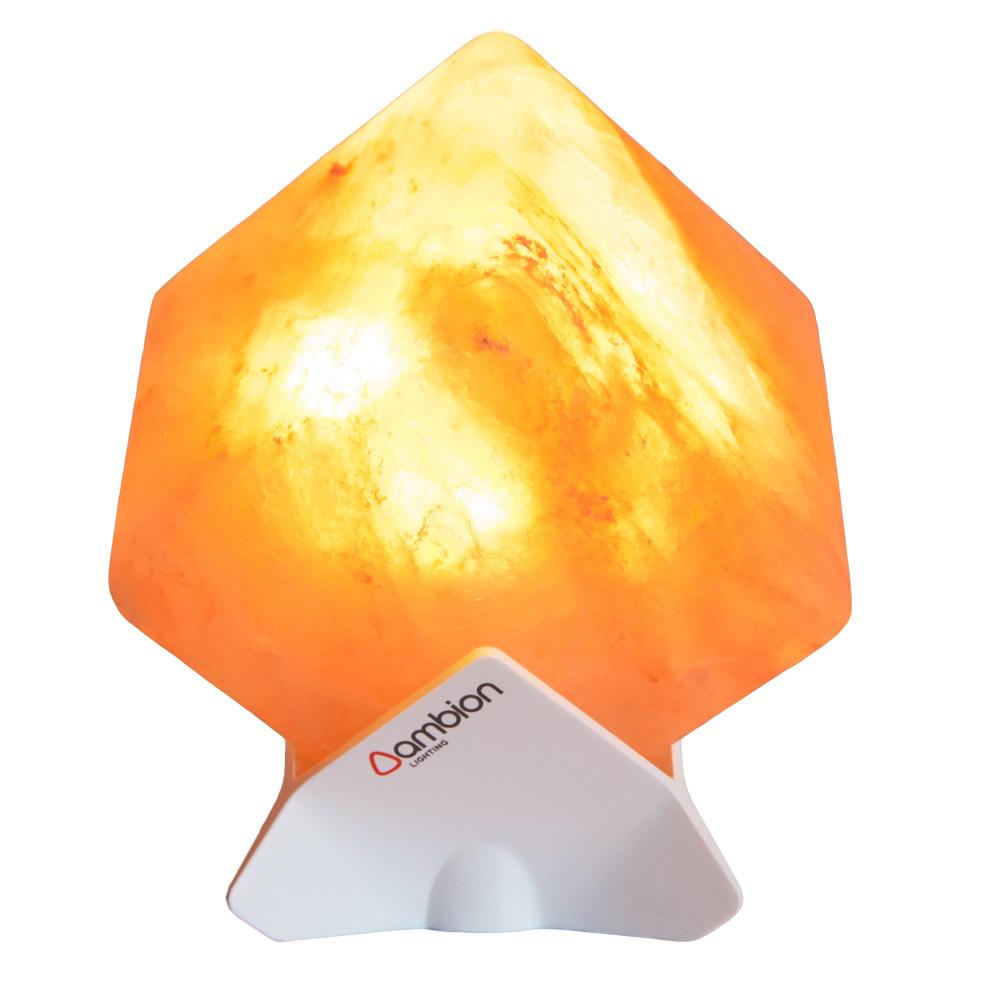 Ambion | 極簡LED玫瑰鹽晶燈 (Manaslu/白)